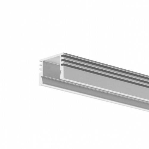 LED Anbauprofil PDS-4-11-2000 2m, eloxiert