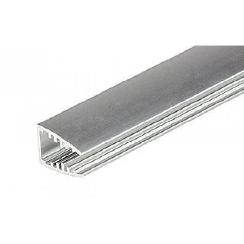 LED Glasprofil MIKRO-10-2000 2m, eloxiert