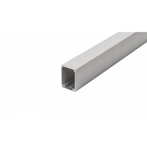 ALU Profil BOX-COVER72-1000, 1m, eloxiert