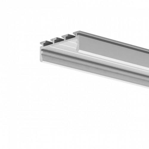 LED Anbauprofil GIZA-24-2000 2m, eloxiert
