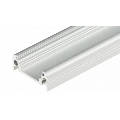 LED Anbauprofil SURFACE10-2000 2m, eloxiert