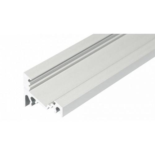 LED Eckprofil CORNER10-1m, eloxiert