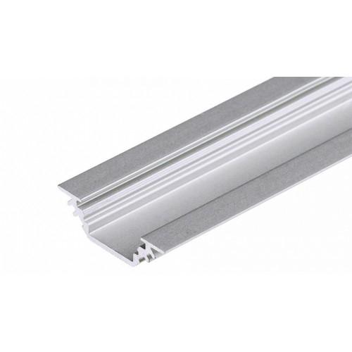 LED Eckprofil TRIO10-1m, Innenmaß 10mm,  eloxiert