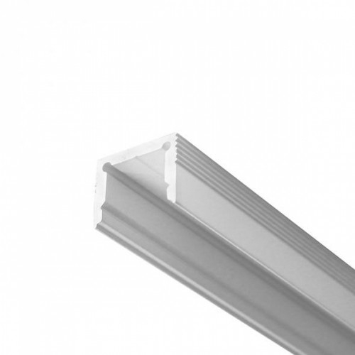 LED Anbauprofil LS-1613-12-2m, eloxiert