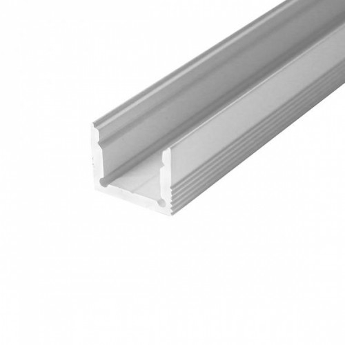 LED Anbauprofil LS-1613-12-1m, eloxiert
