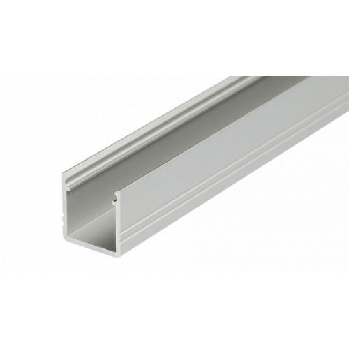 LED Anbauprofil SMART-T-10-1m, eloxiert