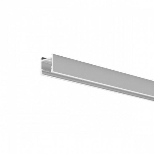 LED Anbauprofil PDS-H-12-2000 2m, eloxiert