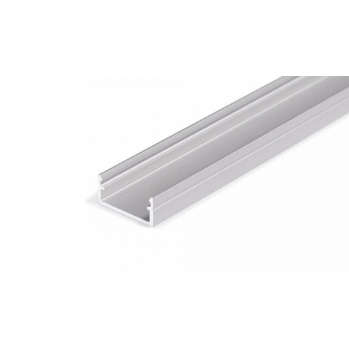 LED Anbauprofil BEGTON12-2000, 2m, eloxiert