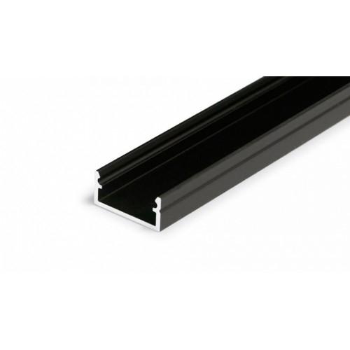 LED Anbauprofil BEGTON12-2000 2m, black