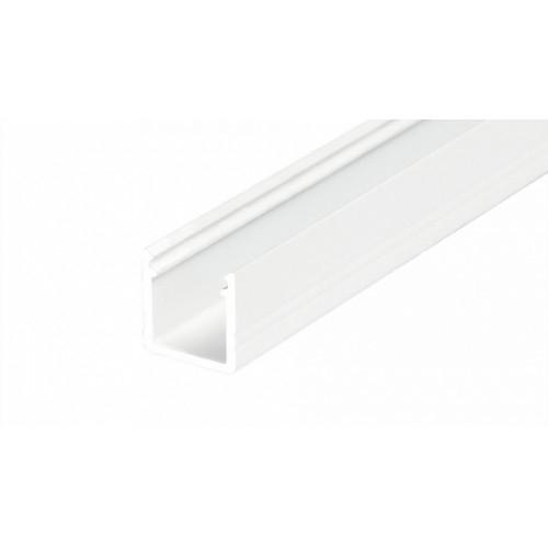 LED Anbauprofil SMART-T-10-2m, eloxiert, white