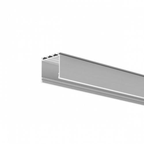 LED Anbauprofil LIPOD-24-2m, eloxiert