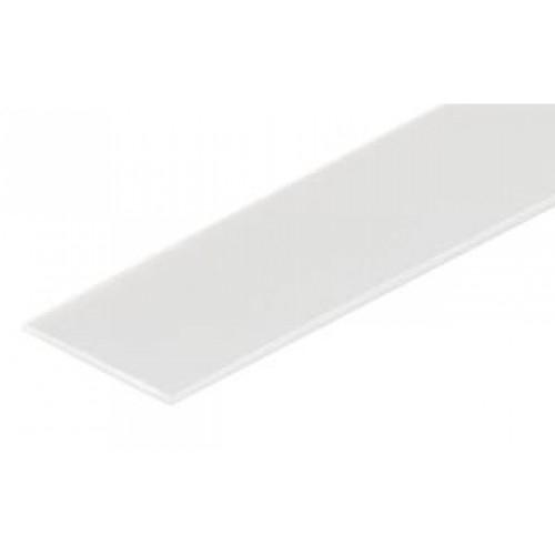 Blende raureif 2m für Aluminiumprofil CORNER10