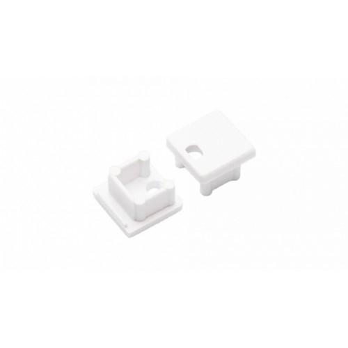 Endkappe-T SMART-10, white, mit Stromversorgung