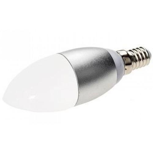 LED-Leuchte in Kerzenform E14-Candle-M 6W, warm weiß