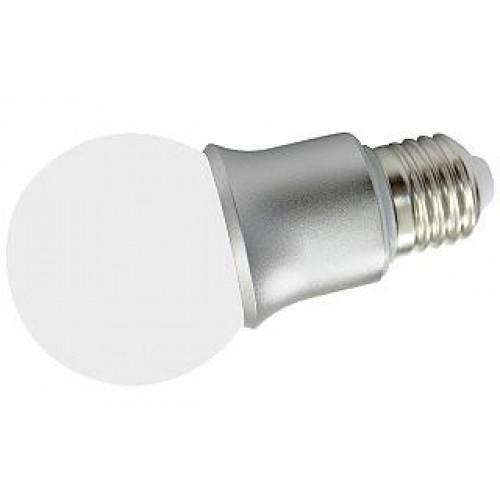LED-Leuchte in Kugelform E27-G60M 6W, warm weiß