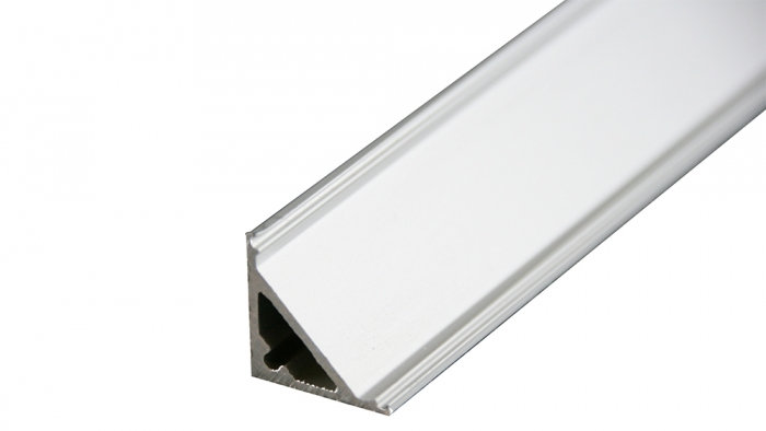 LED Eckprofil LG1515-1m, eloxiert