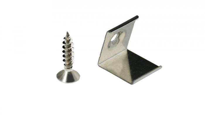 4 Stück Befestigungsclips für Aluminiumprofil LG1515