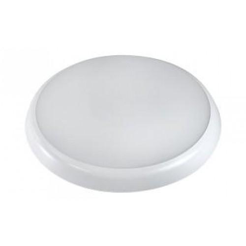 LED Anbauleuchte CLU-R-250 12W weiß, IP54 (inkl. Notstromversorgung)