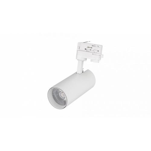 LED Schienenstrahler SN-16DA AW-20W-dw, 24°  ( 3-Phasen, weiß )