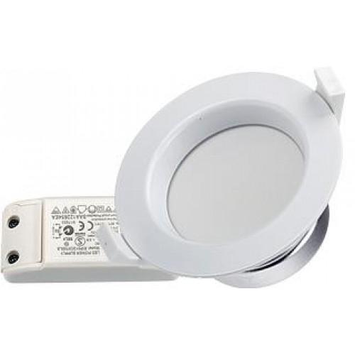 LED Downlight IM-R-90 11W tageslichtweiß, Set inkl. Netzteil