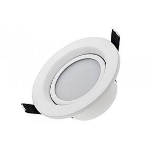 LED Downlight LTD-R-70 AW-5W-dw, set