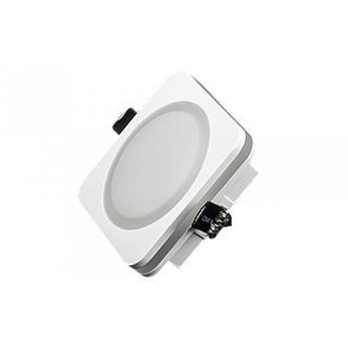LED Downlight / Leuchte SOL96 10W weiß,Set inkl. Netzteil.