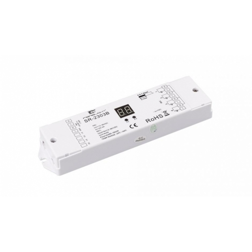 Dimmer DALI SR-2303B (12-36V, 240-720W, 4 CH)