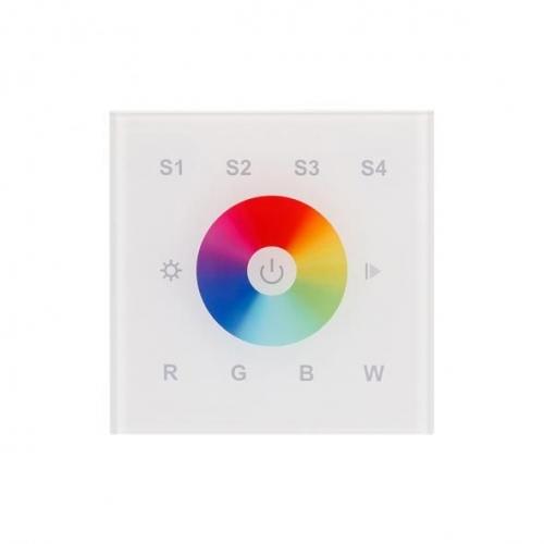 Touch-Panel SR-2820B-AC-RF-IN Weiß (220 V, RGBW, 1 Zone)