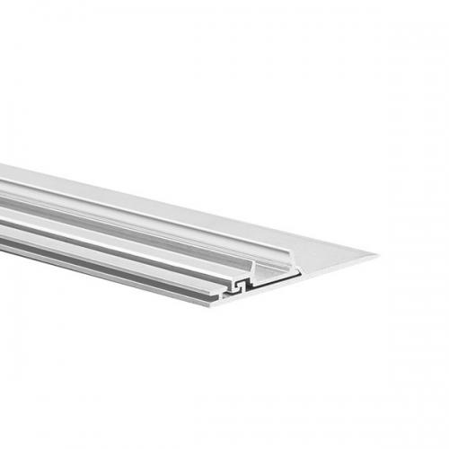LED Profil NISA-PLA 2000, 2m, Nicht eloxiert (roh)