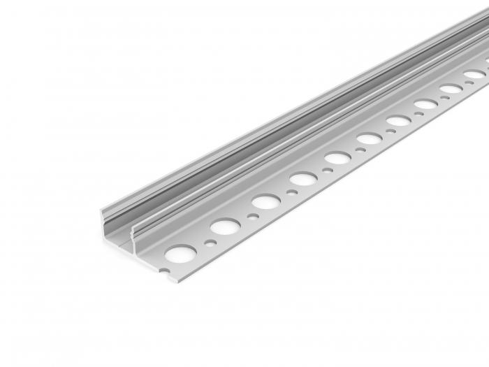 LED Profil UNI-TILE12-180° PLUS 2000, 2m, eloxiert