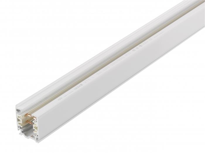 Stromschiene S-AW-3PH-2000, 3-Phasen, 2m, weiss
