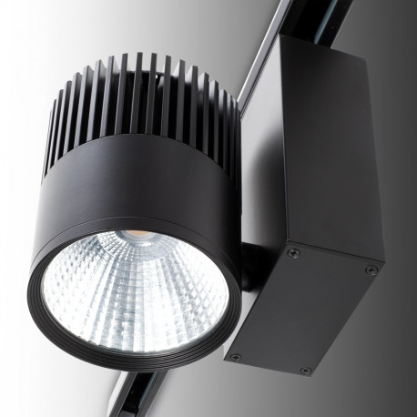 LED Schienenleuchte JW-TR30W-BLACK-WW (3-Phasen, 30W, schwarz)