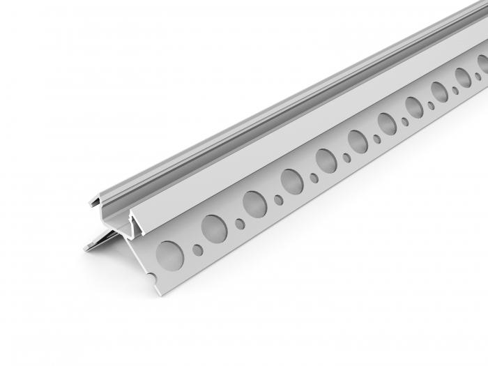 LED Profil UNI-TILE12-270° PLUS 2000, 2m, eloxiert