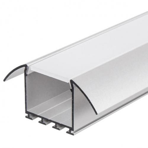 LED Einbauprofil LESTO-24-2m, eloxiert