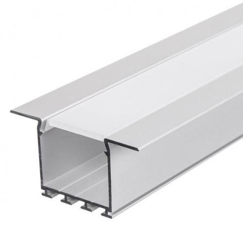 LED Einbauprofil LARKO-K-24-2m eloxiert