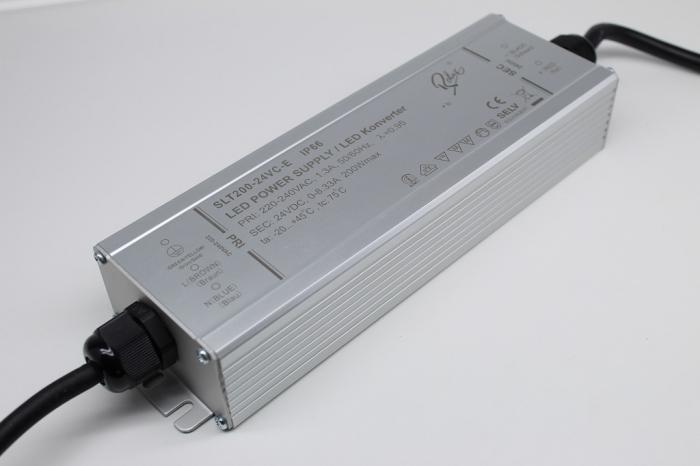 LED Netzteil LSPS-24200 (24V, 8.25A, 200W) IP66