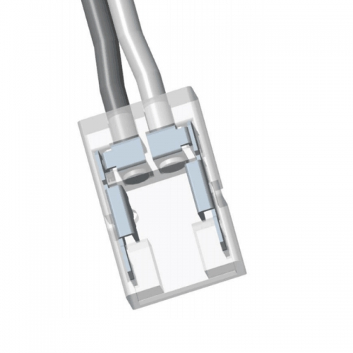 LED COB Connector,Strip to Power (8mm, 3.5A)