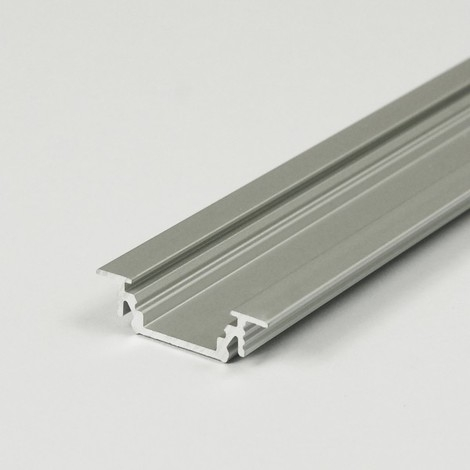 LED Einbauprofil GROOVE-T-10-2m, eloxiert