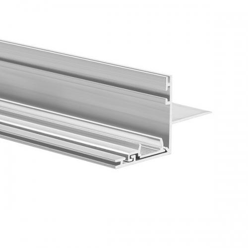 LED Profil NISA-NI 2000, 2m, Nicht eloxiert (roh)