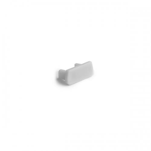 Endkappe NISA PLA/KON/KRA/NI, grau (1 Stück)