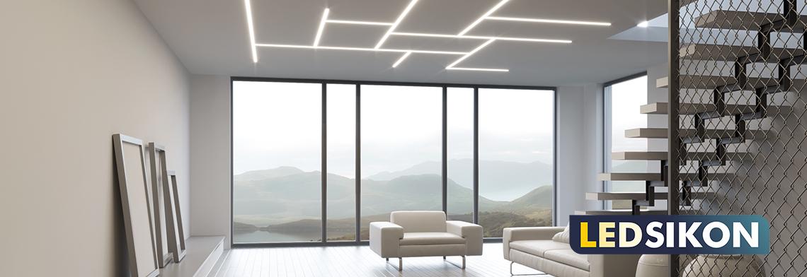 Eloxiertes Aluminiumprofil für LED-Streifen (ohne Abdeckung und Endkappen). Die Abdeckung kann zwischen Linse-, mattweiß, raureif oder durchsichtig variiert werden. Endkappen können ebenfalls mitbestellt werden (s. Zubehör). Maße: 2000х17.8х17.8 mm, maxi