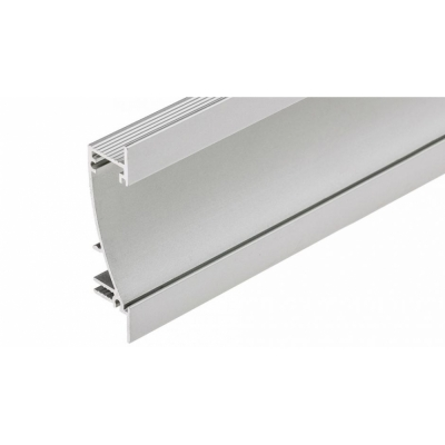 LED Einbauprofil FLAT10 1m, eloxiert