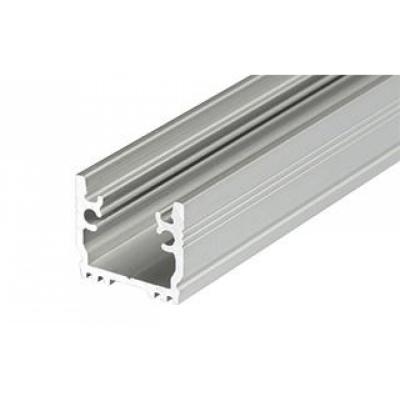 LED Einbauprofil FLOOR-T-12-1m, eloxiert