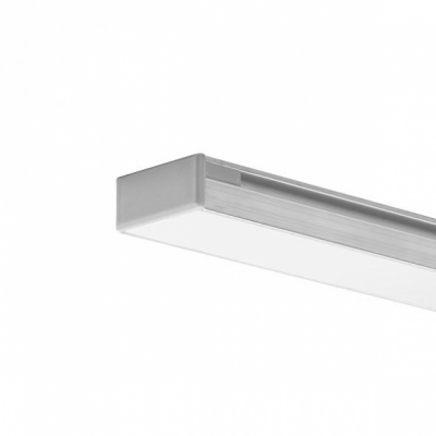 LED Einbauprofil HR-11 2m, eloxiert