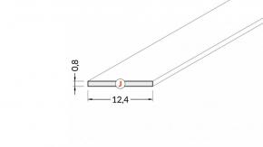 Blende J-12-2000 (weiß, milchig) BEGTON-12